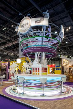 Colorful & fun booth! - Ageas at BIBA 2013