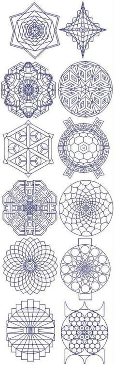 triangle mandala - Google Search