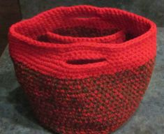 Handmade Crocheted Purse with Inside Pockets by by LeftoverStuff, $29.00
