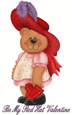 animated teddy bear gif | red-hat-valentine-gif-teddy-bear-animated-images-free-download.gif
