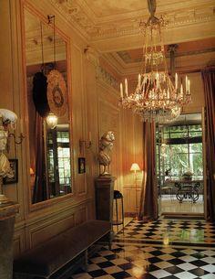 Yves Saint Laurent's Paris duplex - Entrance Hall