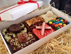 Foto de uma caixa de brownies da CWBrownie.