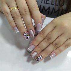 Gel Uv Nails, Toe Nails, Bridal Nails, Toe Nail Art, Stylish Nails, Nail Arts, Nail Colors, Nail Art Designs, Beauty Makeup