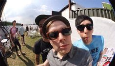 PATRICK STUMP, PETE WENTZ, AMAZINGPHIL AND AN AWKWARD DANISNOTONFIRE!!!....My life is complete.