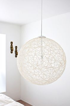 12 Dashing DIY Light Fixtures via @MyDomaine