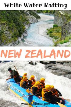 Looking for adventure then try white water rafting on Shotover River, Queenstown, New Zealand! Rafting through canyons and rapids is an adrenaline pumping experience you won't forget. Romantic Destinations, Travel Destinations, Best Travel Guides, Travel Tips, Travel Ideas, Queenstown New Zealand, New Zealand Travel, Australia Travel, Rafting