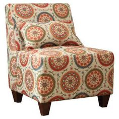 Check out the Kinfine K6426 Large Patterned Armless Accent Chair priced at $179.99 at Homeclick.com.