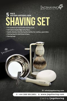 At Jag Shaving, we carry high quality shaving & grooming products for Men.We offer reasonable prices and all our products are manufactured by world's best companies. Shaving Stand, Shaving Set, Shaving Razor, Shaving Brush, Men Shaving, Shaving & Grooming, Grooming Kit, Safety Razor, Synthetic Hair