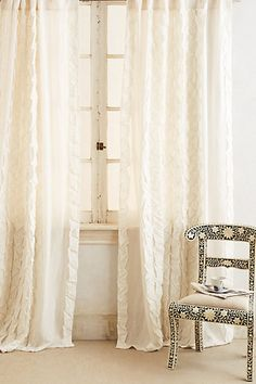 Basal Curtain #anthropologie