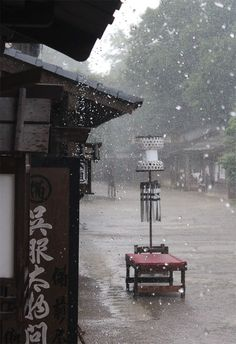 Medieval style town, Kyoto, Japan