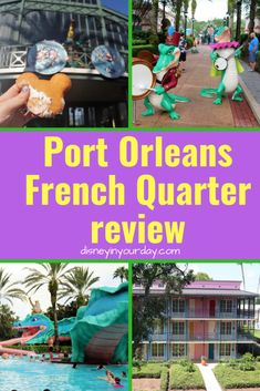 Port Orleans French Quarter is a moderate resort located at Disney World with a fun Mardi Gras / New Orleans theme and a great pool! Disney World Planning, Disney World Vacation, Disney Cruise Line, Disney Vacations, Disney World Tips And Tricks, Disney Tips, Disney Parks, Walt Disney, Disney Bound