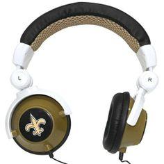 iHip New Orleans Saints DJ Headphones by iHip. $19.99. NFL New Orleans Saints Team Logo DJ Headphone