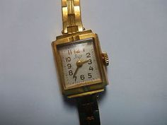 WATCH MONTRE LUCH ЛУЧ RUSSE SOVIET ANCIEN RUSSIAN PLAQUE OR GOLD PLATED HISTORY | eBay