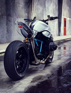 BMW motorrad concept roadster envisions future of boxer engines
