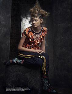 GRACE DIMA 8 copy 1 Wonderland Summer 2014 | Patricia van der Vliet por Dima Hohlov  [Editorial]