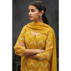 Ganga Nayana Pure Kora Silk Digital Printed Salwar Suits 7216 by DeeDeeBean Salwar Designs, Kurta Designs Women, Kurti Designs Party Wear, Neck Designs For Suits, Sleeves Designs For Dresses, Dress Neck Designs, Sleeve Designs, Kurti Sleeves Design, Kurta Neck Design