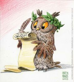 Owl Feather Tattoos, Funny Owls, Screech Owl, Bird Houses Painted, Paper Owls, Owl Pictures, Owl Cartoon, Owl Always Love You, Beautiful Owl