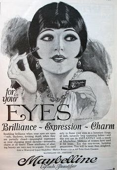 maybelline gets inspired by louise brooks' expressive eyes