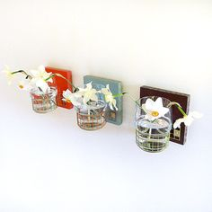 Wall Flower Vases