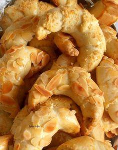 croissants aux amandes gateaux algeriens pâte sans levure
