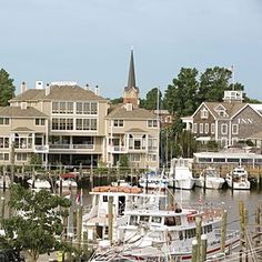 Lewes, Delaware Waterfront