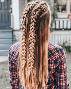 Easy Hairstyles For Long Hair, Pretty Hairstyles, Girl Hairstyles, Braided Hairstyles, Fashion Hairstyles, Back To School Hairstyles Easy, Girls Hairdos, Celebrity Hairstyles, Curly Hair Styles