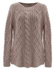 Gerard DAREL Marilyn Monroe Brown Wool Cable Knit Pullover Sweater Pipps Celebrate book