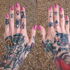 by serena3000 ....im def gonna have some hand tattoos at some point