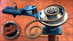 Bender for Blacksmith / Metal Scroll Bender Figures Metal Bending Tools, Metal Working Tools, Metal Tools, Welding Tools, Welding Art, Welding Projects, Metal Fabrication Tools, Metal Bender, Iron Gate Design