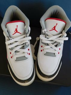check out 485b7 87a7f NIKE AIR JORDAN 3 RETRO FIRE RED SIZE 6.5  fashion  clothing  shoes   accessories  kidsclothingshoesaccs  boysshoes (ebay link)