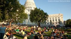 Listen to a Concert on the Square