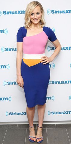 Look of the Day - August 1, 2014 - Taylor Schilling in Roland Mouret from #InStyle