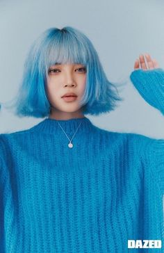 Image discovered by karlão. Find images and videos about korean, photoshoot and yg on We Heart It - the app to get lost in what you love. Aesthetic Hair, Aesthetic People, Portrait Inspiration, Hair Inspiration, Pretty People, Beautiful People, Japonese Girl, Pelo Multicolor, Hair Reference
