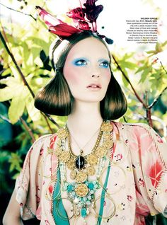 Codie Young by Nicole Bentley for Vogue Australia April 2011 | Fashion Gone Rogue: The Latest in Editorials and Campaigns