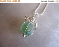 Mothers Day Sale Sea Glass Jewelry  Cobalt and Cornflower
