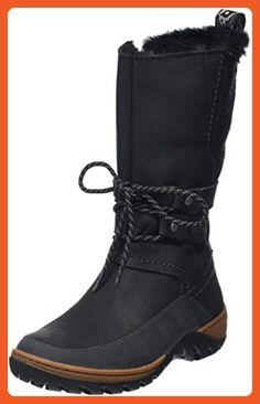 the latest 57d32 f9167 Merrell Womens Sylva Tall Waterproof Winter Boot, Black, 9 M US - Outdoor  shoes