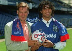 Manager Glenn Hoddle brings Rudd Gullit to the club