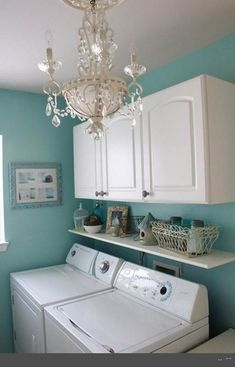 """Visit our web site for even more information on """"laundry room storage diy"""". It is actually an excellent area to learn more. Visit our web site for even more information on laundry room storage diy. It is actually an excellent area to learn more. Blue Laundry Rooms, Small Laundry, Laundry Area, Laundry Room Organization, Laundry Room Design, Laundry Organizer, Storage Cabinets, Storage Shelves, Small Shelves"""