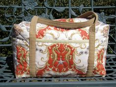 Hey, I found this really awesome Etsy listing at https://www.etsy.com/listing/229074127/large-quilted-duffle-bag-seahorses-and