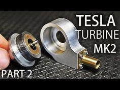 Micro Tesla Turbine MK2   Part2   Housing, End Caps, Nozzle - YouTube