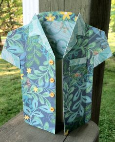 My Time To Play: Hawaiian Shirt Birthday Card for My Hubby and Margarita Card for my Daughter