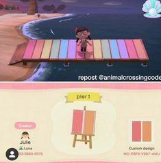 Animal Crossing 3ds, Animal Crossing Wild World, Animal Crossing Villagers, Animal Crossing Qr Codes Clothes, Jungle Pattern, Ac New Leaf, Motifs Animal, Nerd, Custom Design