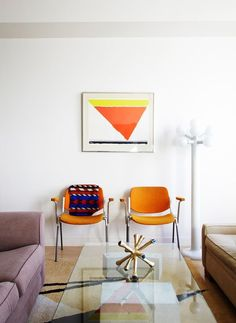 Living and Working Downtown With Postmodern Treasures | Design*Sponge
