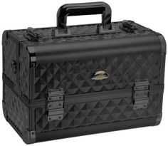 Shany Makeup Train Case Black