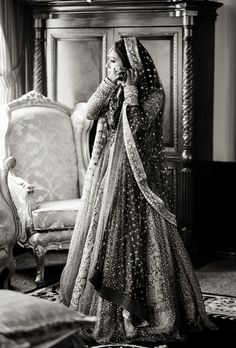 Black and white beauty! | Bride | Photography by Salwa