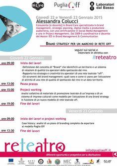 Brand strategy per lo #spettacolo con Alessandra Colucci