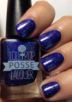 Lollipop Posse Lacquer You Are the Gull (Strong and Wild) in direct light