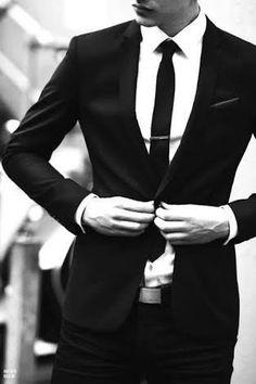 Classic Men Suits Black Business Suits Slim Fit Groom Suit Groomsmen Tuxedo Terno Masculino Kyptkn Wedding Suits for Men Fashion Mode, Mens Fashion, Style Fashion, Fashion Black, Fashion News, Fashion Menswear, Fashion Clothes, Terno Slim, Costume Gris