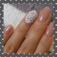Not so crazy about the flowers.... but I love the muted mauve color on the rest of the nails