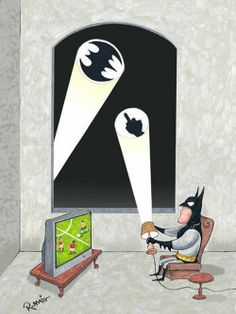 For those days where you just want Gotham City to solve its own problems